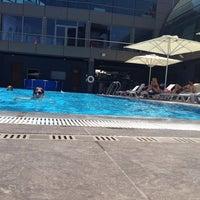 Photo taken at Divan Pool by Smh Z. on 7/2/2014