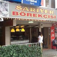 Photo taken at sarıyer börekçisi by Smh Z. on 6/20/2014