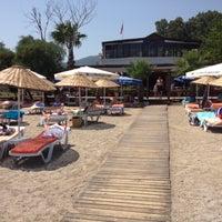 Photo taken at Butik Han Beach Otel by aaMett O. on 7/19/2013