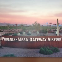 Photo taken at Phoenix-Mesa Gateway Airport (AZA) by Julie - Visit StCloud on 1/12/2013
