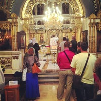 Photo taken at Храм святых апостолов Петра и Павла by Павел Игоревич on 7/28/2013