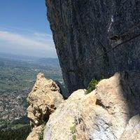 Photo taken at Klettersteig Kapf by Mo on 7/26/2013
