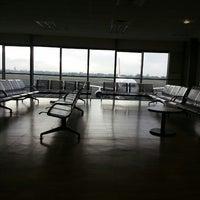 Photo taken at Belfast International Airport (BFS) by Derya T. on 3/2/2013