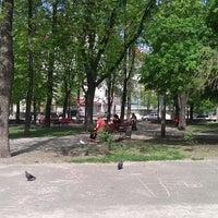 Снимок сделан в Павлівський сквер пользователем marina c. 5/1/2013