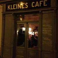 Photo taken at Kleines Café by Norbert G. on 11/22/2012