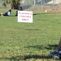 Photo taken at Vineyards Soccer Fields by Patricia G. on 10/25/2014