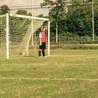 Photo taken at Vineyards Soccer Fields by Patricia G. on 10/10/2015