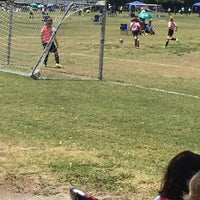 Photo taken at Vineyards Soccer Fields by Patricia G. on 5/9/2015