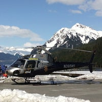 Photo taken at Points North Heli by Andrew K. on 4/6/2013