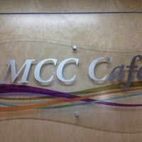 Photo taken at MCC Cafe by John Z. on 3/4/2013