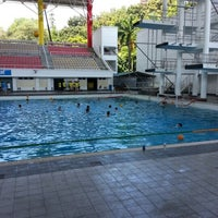 Photo taken at Pusat Akuatik Darul Ehsan (Aquatic Centre) by David K. on 1/27/2013