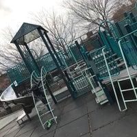 Photo taken at William Sheridan Playground by Julian E. on 12/31/2016