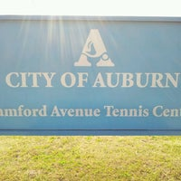 Photo taken at Samford Tennis Courts by Beth G. on 3/31/2013