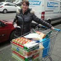 Photo taken at Albert Heijn by Edwin E. on 1/10/2013