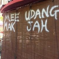 Photo taken at Mee Udang Mak Jah Kuala Sepetang by arezeo on 1/27/2013