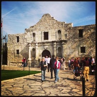 Photo taken at The Alamo by Danielle D. on 1/26/2013