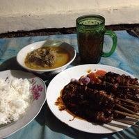 "Photo taken at Sate Dan Gule Kambing Bu Hesti ""tegal"" by San M. on 10/13/2013"