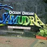 Photo taken at Ocean Dream Samudra (Gelanggang Samudera Ancol) by Biya M. on 2/7/2013