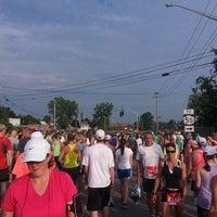Photo taken at Boilermaker 15K Starting Line by Hue N. on 7/13/2014