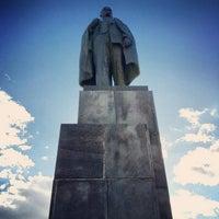 Снимок сделан в Площадь Ленина пользователем Игорь Ш. 9/24/2013