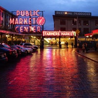 Photo taken at Pike Place Market by Jennifer T. on 9/30/2013