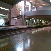 Photo taken at Metro Quinta Normal by Jorge k. on 2/9/2013