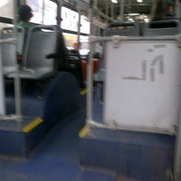 Photo taken at Linea de buses 201 by Jorge k. on 7/4/2013