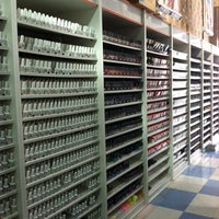 Photo taken at Sunlight Nail Supply by Emma R. on 7/4/2013