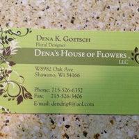 Photo taken at Dena's House Of Flowers by Kayla J. on 5/11/2013