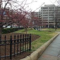 Photo taken at James Monroe Park by Douglas R. on 1/14/2013