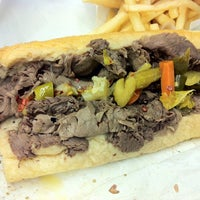 Photo taken at Luke's Italian Beef by Geoff F. on 3/21/2013