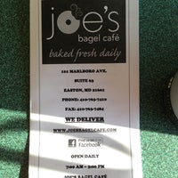 Photo taken at Joe's Bagel Cafe by Rich W. on 4/13/2013