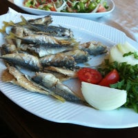 3/15/2013 tarihinde Merve K.ziyaretçi tarafından Aytekin Balık & Restaurant'de çekilen fotoğraf