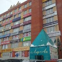"Photo taken at ТОЦ ""ЛарАн"" by Irina K. on 1/17/2013"