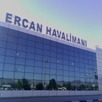 Photo taken at Ercan Airport (ECN) by Tanju Y. on 1/10/2013