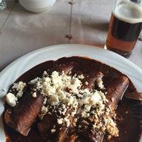 Photo taken at Los Pacos -Alta Cocina Oaxaqueña- by Annie S. on 4/11/2016
