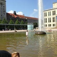 Photo taken at Augustusplatz by Michał J. on 7/25/2013