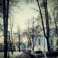 Photo taken at School of International Relations SPBU by Александр В. on 1/17/2013