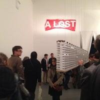 Photo taken at La Criée D'art Contemporain by Damien-Paul G. on 3/14/2014