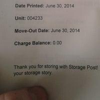 ... Photo Taken At Storage Post Self Storage Long Island City By Aerik V.  On 7 ...