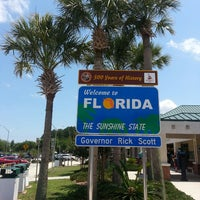 Photo taken at Florida Welcome Center (I-95) by Pedro G. on 6/16/2013
