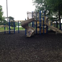 Photo taken at Harmon Park by Kimberly W. on 6/14/2013