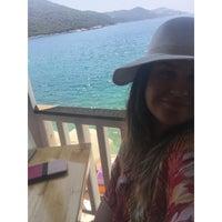 Photo taken at Kaş Marin Hotel Restorant by Güzin K. on 8/5/2015