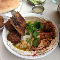 Photo taken at Hakosem Falafel by Kir on 4/21/2013
