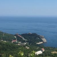 "Photo taken at Санаторий ""Карасан"" by Kira K. on 7/16/2016"