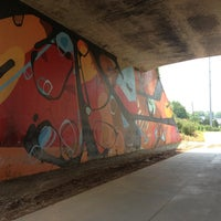 Photo taken at Atlanta BeltLine Corridor under Virginia Ave by Brittany B. on 6/8/2013