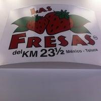 Photo taken at Las Fresas del Km 23 y 1/2 by Antonio Z. on 6/6/2013