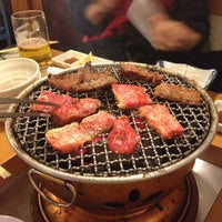 Photo taken at 炭火焼肉 じろう by Koh M. on 3/8/2014