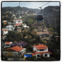 Photo taken at Teleférico do Funchal by Cristina B. on 8/14/2013