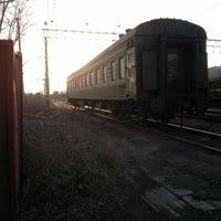 Photo taken at Сызрань-1. Южный парк by Vladimir K. on 4/3/2013